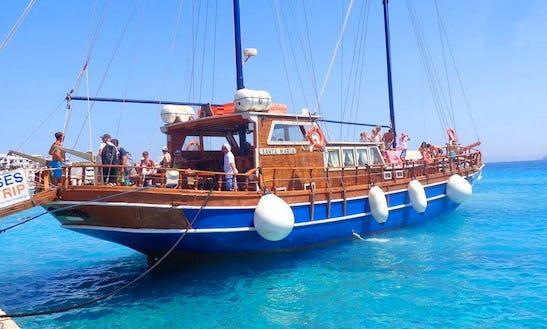 'santa Maria' Sailing Gulet Cruises In Naxos