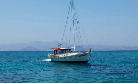 'argonaftis' Traditional Cycladian Boat Cruise In Naxos
