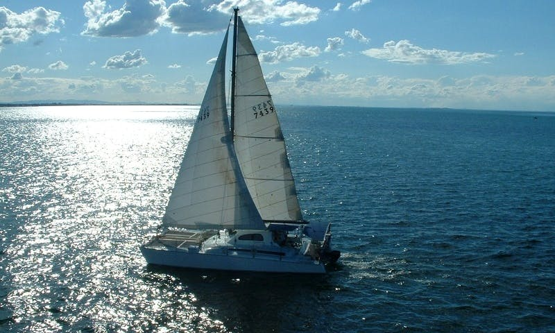 "45' Sailing Yacht ""Dick Whittington"" In Moreton Island, Queensland"