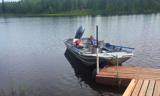 22' Jon Boat Fishing Charter In Palmer, Alaska