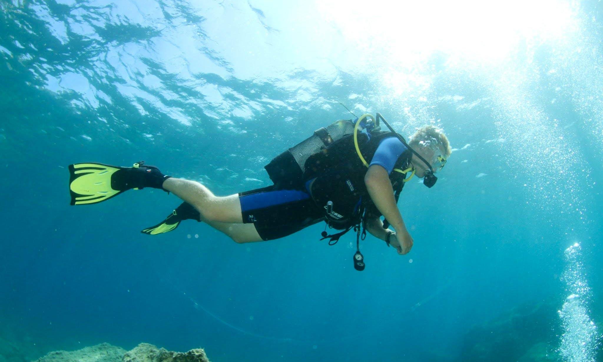 PADI Scuba Diving & Specialties Courses in Vasilikis