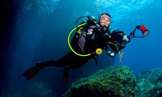 'thresher' Boat Diving Trips In Vasilikis