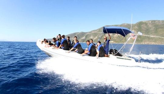 'nautilus' Boat Diving Trips In Vasilikis