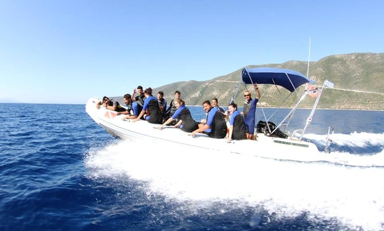 'nautilus' Boat Diving Trips In Vasilikis