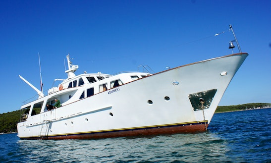 'agramer' Yacht Liveaboard Diving In Vasilikis