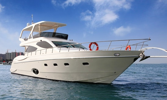 Motor Yacht Sea Stella 68 Rental In Shanghai