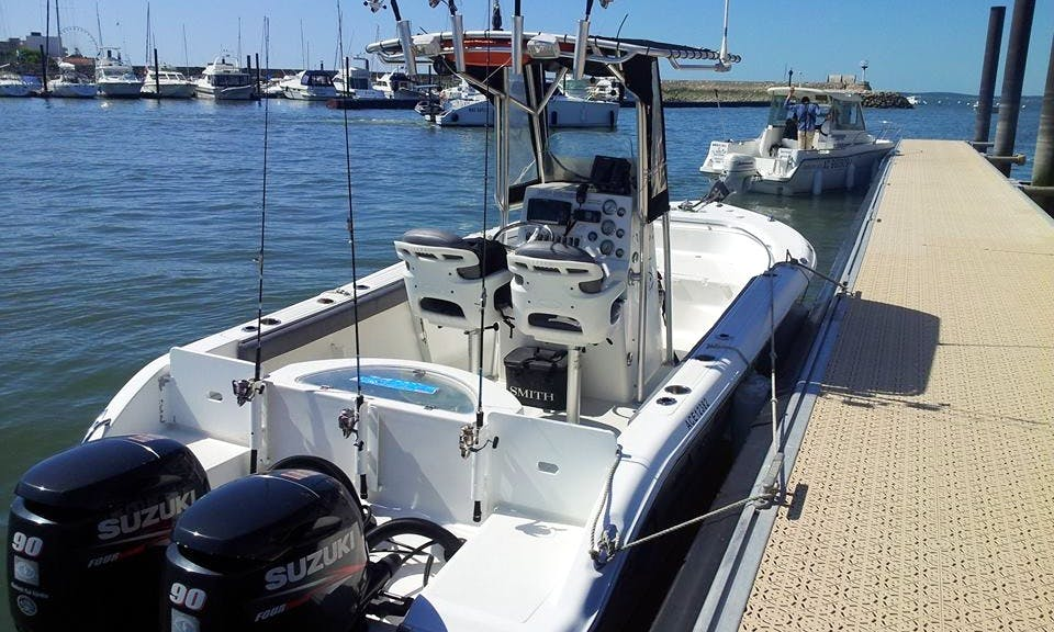 21' Center Console Fishing Trips in Arcachon, France