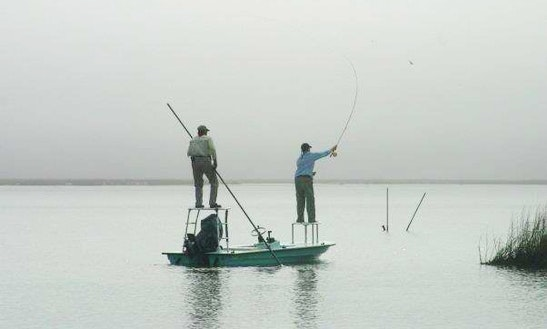 Guided Fly Fishing With Captain Kenny In New Orleans, Louisiana
