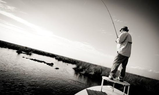 Guided Fly Fishing Trip With Captain Rocky In New Orleans, Louisiana