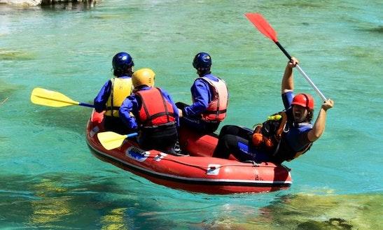 Mini Raft In Bovec