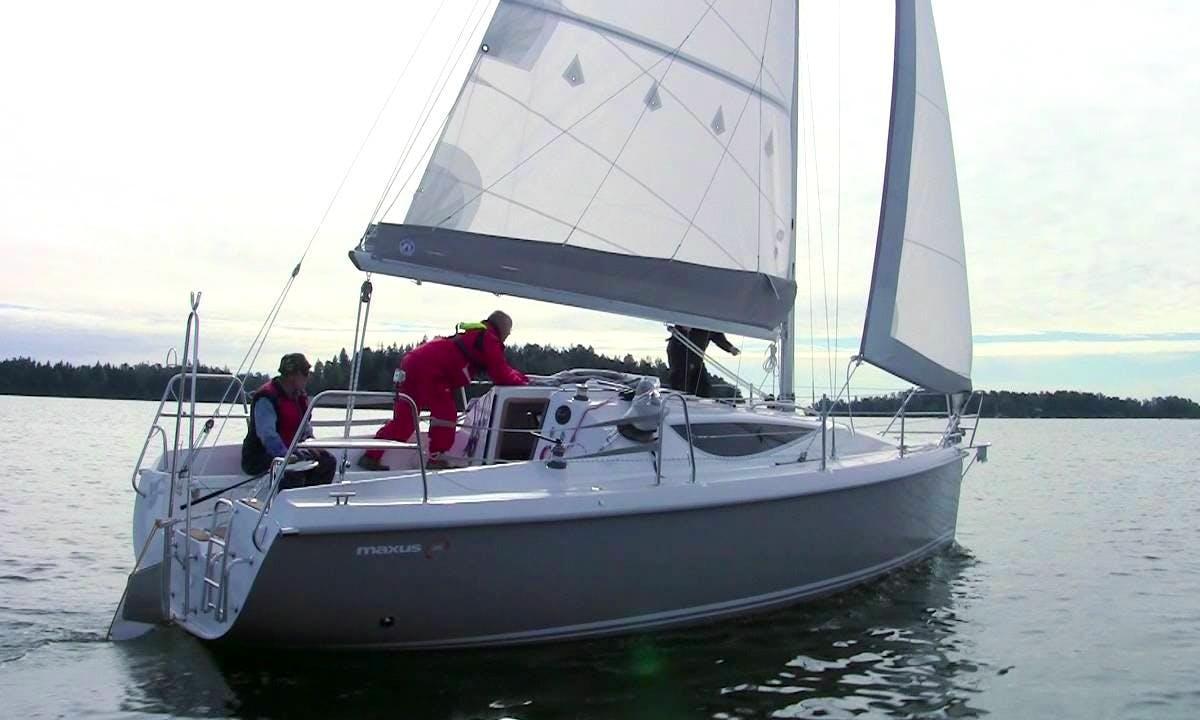 Maxus 28 Sailboat Charter in Węgorzewo, Poland