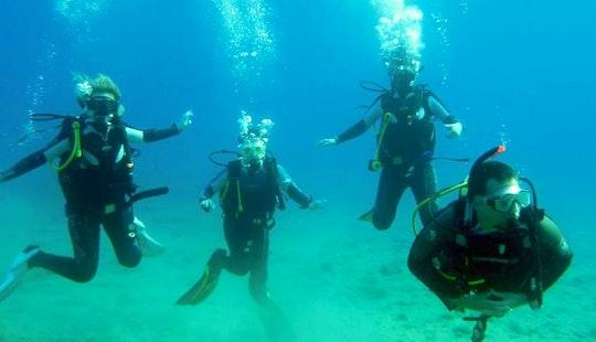 Learn A Discover Scuba Diving In Santorini, Greece