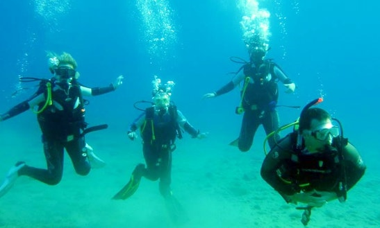 Learn A Discover Scuba Diving In Santorini, Greece