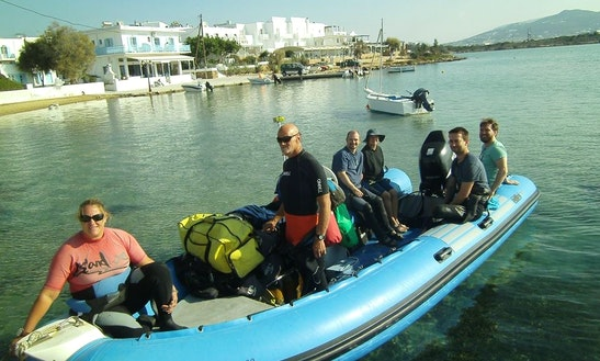 Discover Scuba Diving In Paros