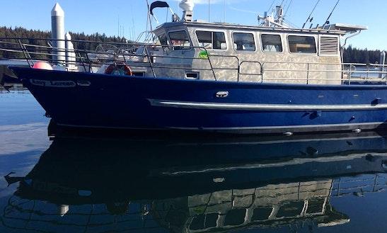 40' Trawler Charter In Port Lions, Alaska