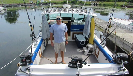 Enjoy Fishing In Ludington, Michigan With Captain Glen