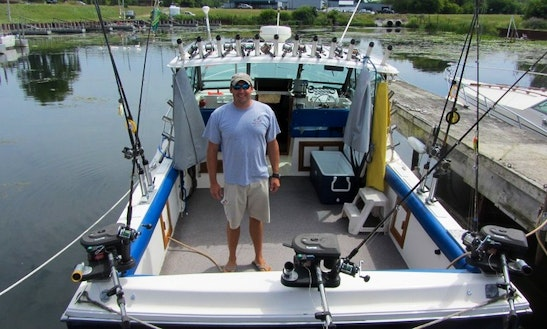 Enjoy Fishing In Ludington, Michigan With Captain Glen