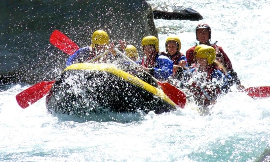 White Water Rafting Trip In Ubaye