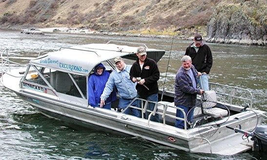 Sturgeon Bass & Steelhead Fishing Charter On Hells Canyon