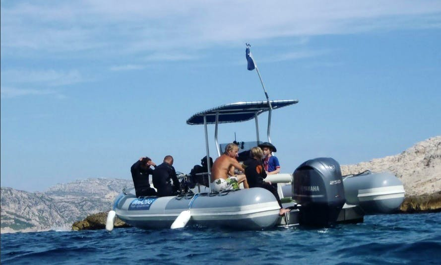 Baptism of Diving In Marseille