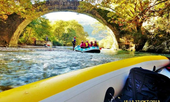 Experience A Thrilling Day On The River In Ioannina, Greece