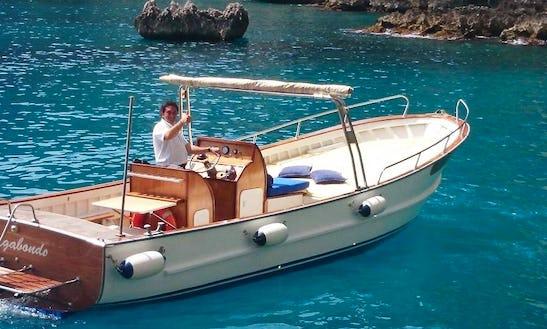 Island Boat Tour In Capri