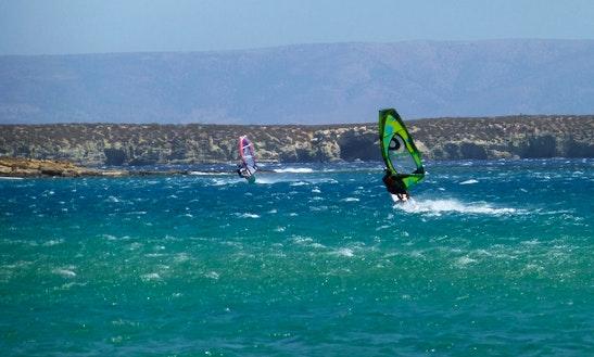Windsurfing Rentals In Paros