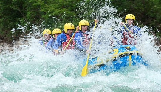 Amazing Rafting Trip In Tolmin, Slovenia