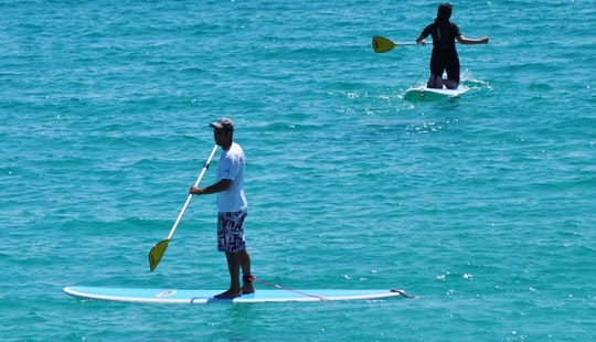 Stand Up Paddle Board Lesson In Morro Jable