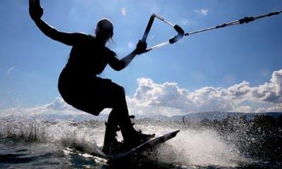 Wakeboarding in Noumea, New Caledonia