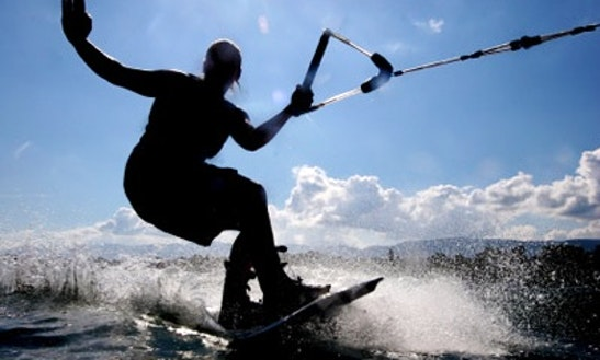 Wakeboarding In Noumea, New Caledonia