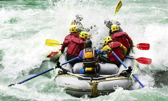 Rafting Trips In Aymavilles, Italy