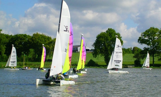 Try Windsurfing While In La Selle-craonnaise, France