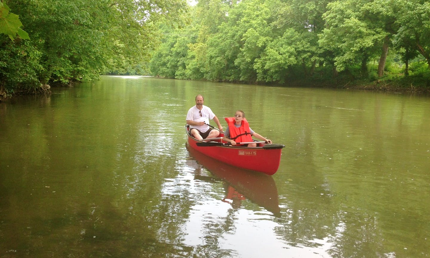 Canoeing Trips in East Riverside Dr