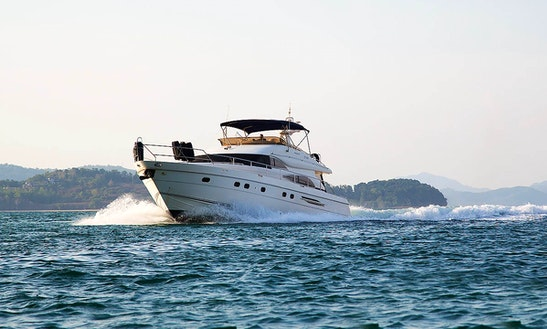 'louise' Princess 65 Yacht Charter In Tambon Chalong