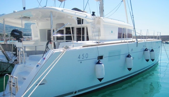 'dream Catcher' Lagoon 450 Fly Catamaran Charter In Sant'agata Di Militello