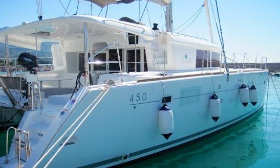 'dream Catcher' Lagoon 450 Fly Catamaran Charter In Sant'agata Di Militello