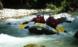 River Rafting In Pertosa
