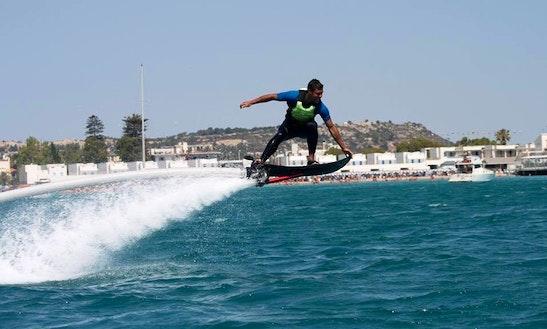 Hoverboarding In Cagliari
