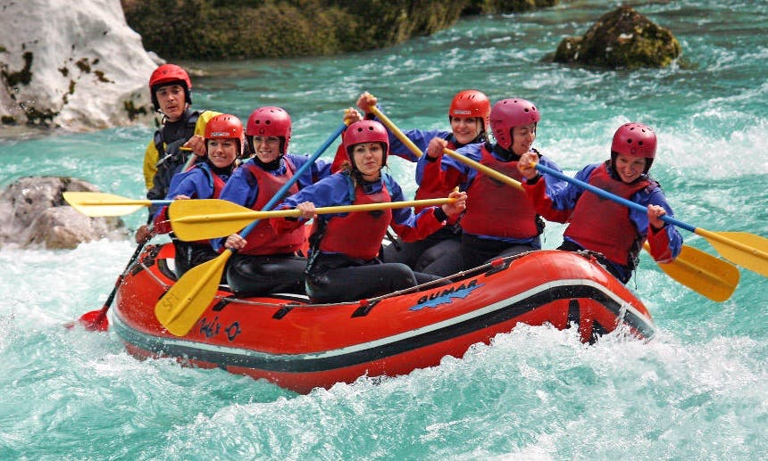 White Water Rafting Trips in Bovec