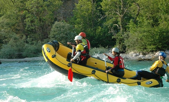 Rafting Trips In Soča