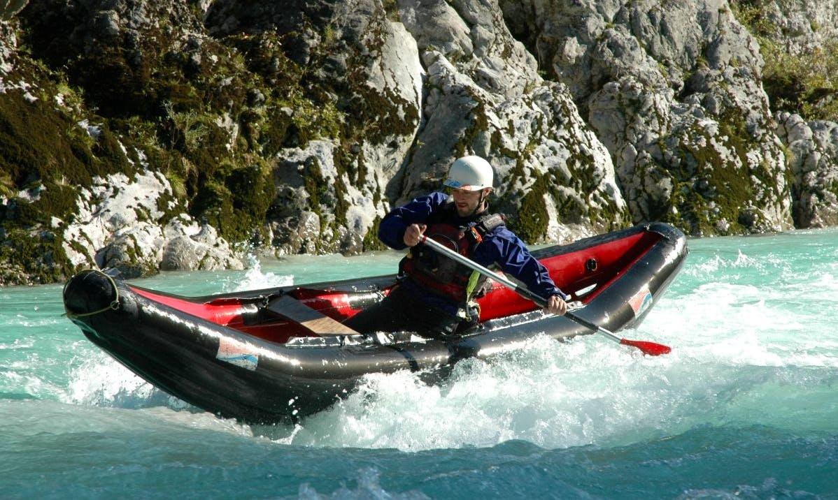 Canoeing Trips in Soča