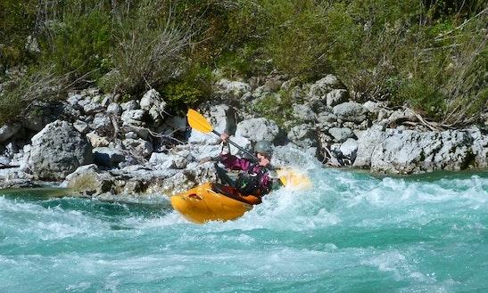 Kayaking Trips In Soča