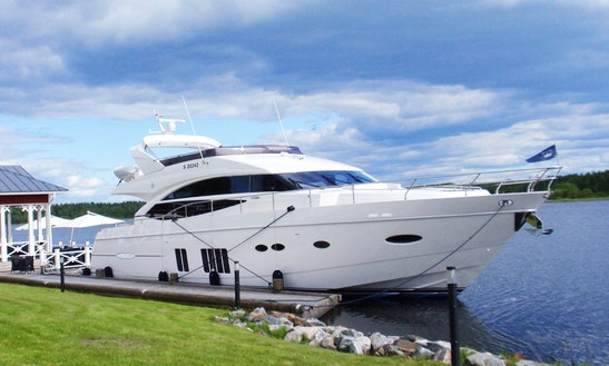 73' Power Mega Yacht Charter In Helsinki, Finland