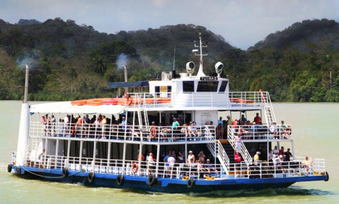 "An Amazing Panama Bay Cruise on 117' ""Tuira II"" Passenger Boat"
