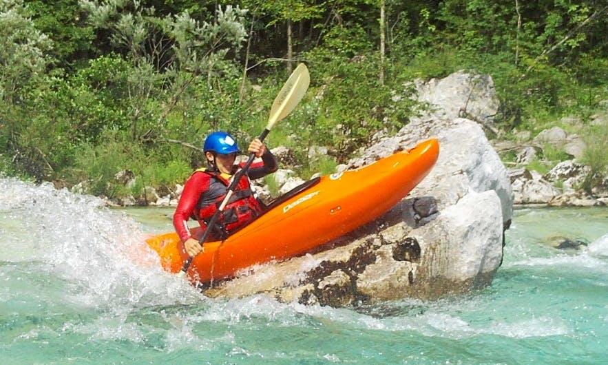 Kayak Trips in Kobarid