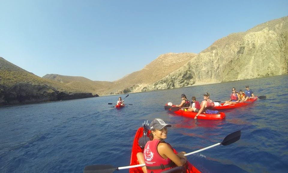 Guided Canoe Trips with Certified and Trained Professionals in Almeria, Spain