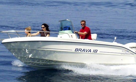 Frangelico 115hp Speed Boat Hire In Kerkira