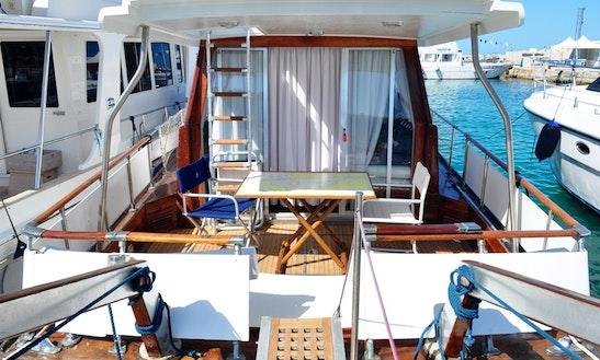 Motor Yacht Rental In San Vito Lo Capo