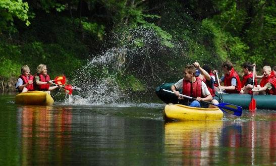 Canoe Hire In Liberec